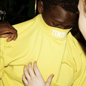 Heron Preston embroidery turtleneck  T-shirt